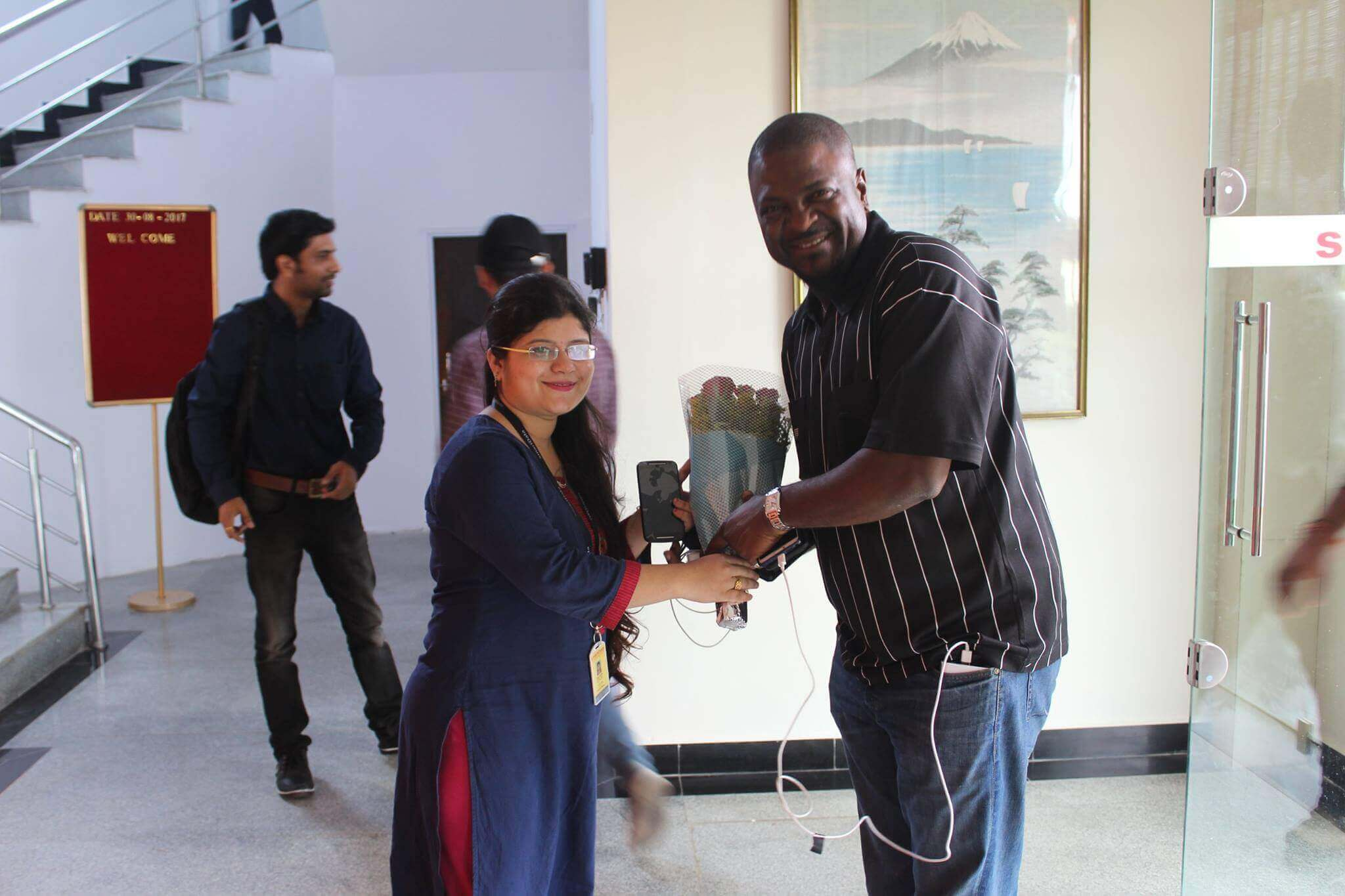Client's Visit Nagpur